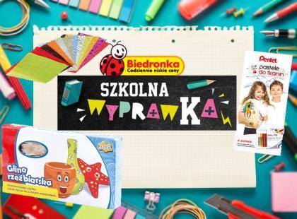 6 zaskakujących produktów szkolnych z Biedronki, którymi nie pogardzi dorosły