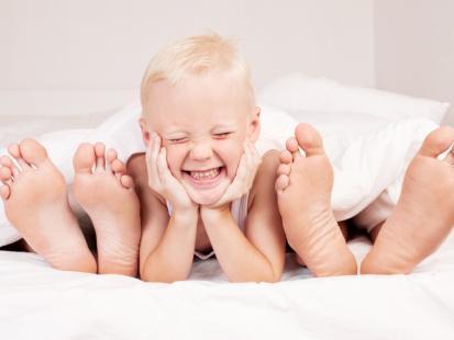 7 mitów na temat spania z maluchem