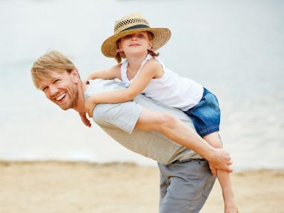 7 pomysłów na świetną zabawę z tatą