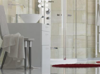 7 trików na optyczne powiększenie małej łazienki