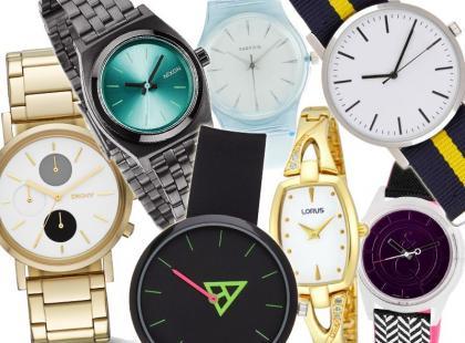 70 modnych zegarków z najnowszych kolekcji