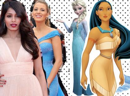 8 hollywoodzkich aktorek, które do złudzenia przypominają księżniczki Disneya