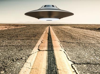 8 miejsc w Polsce, w których widziano ufo!