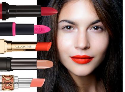 8 najmodniejszych kolorów szminek na lato 2014