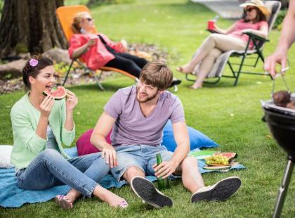 8 pomysłów na przyjęcie w ogrodzie