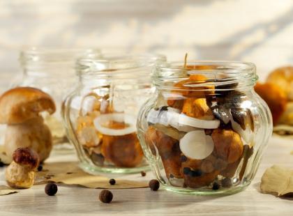 8 sposobów na grzybowe zapasy na zimę