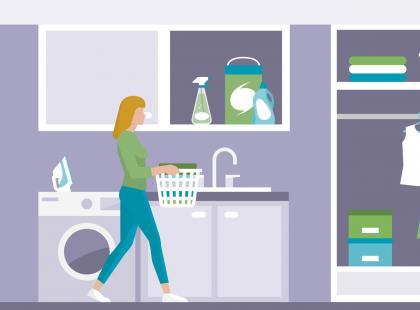 8 staromodnych babcinych porad, które sprawią że twoje pranie będzie wyglądać nieskazitelnie