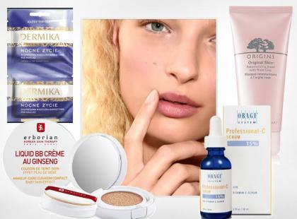 9 kosmetyków, które w kilka minut poprawią wygląd twojej cery!