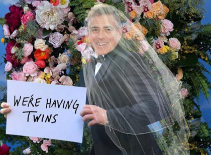 A jednak! Amal Clooney jest w ciąży... i to bliźniaczej!