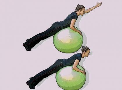 ABT – ćwiczenia z piłką wzmacniające mięśnie