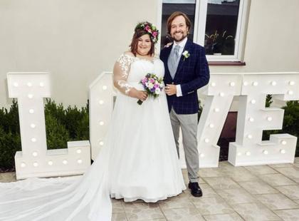 Ach, co to był za ślub! Poznaj historię miłości Dominiki Gwit i jej męża