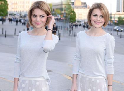 Ada Szulc w romantycznym looku z przezroczystościami