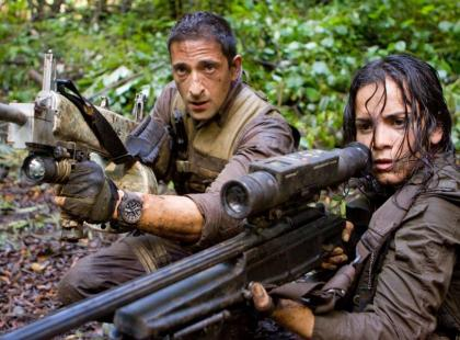 "Adrien Brody w filmie ""Predators"""