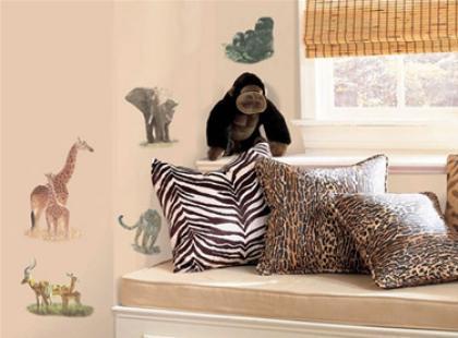 Afryka Dzika - pokój w stylu Safari