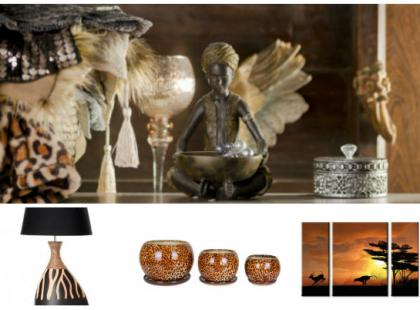 Afryka w domu - dodatki w stylu safari