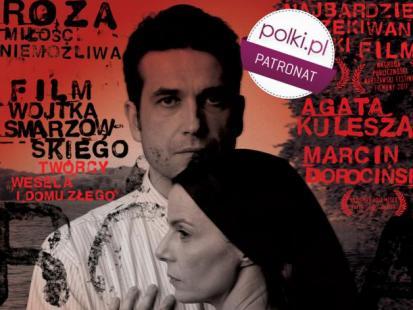 Agata Kulesza i Marcin Dorociński w filmie Róża