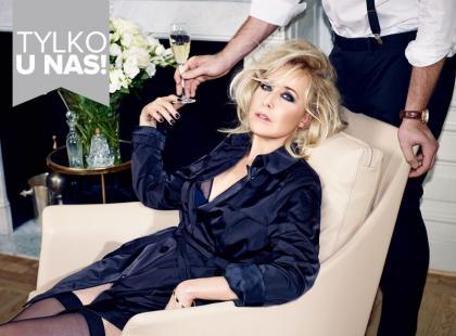 Agata Młynarska w niegrzecznej sesji zdjęciowej dla magazynu Viva!
