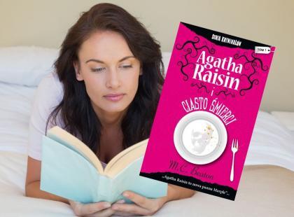 """""""Agatha Raisin i ciasto śmierci"""" - książkowa nowość!"""