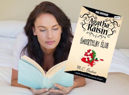 """""""Agatha Rasin i śmiertelny ślub"""" - książkowa nowość!"""