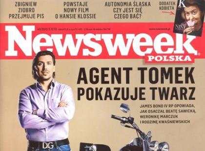 Agent Tomek zaczyna życia medialne