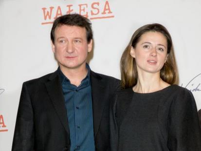 Agnieszka Grochowska i Robert Więckiewicz - Zagrać Wałęsów