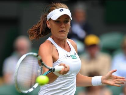 Agnieszka Radwańska na Wimbledonie