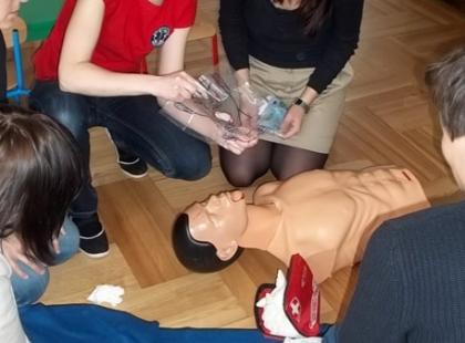 Aktywnie i bezpiecznie - sekrety pierwszej pomocy przedmedycznej