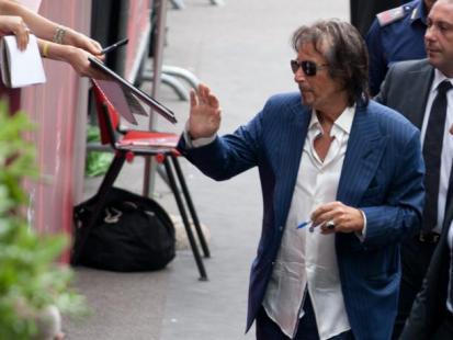 Al Pacino pojawił się w Wenecji