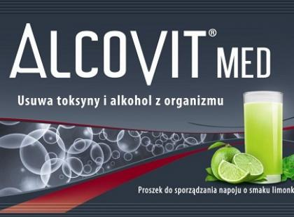 Alcovit Med – zapobiega objawom kaca