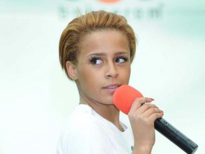 Aleksandra Szwed - nowa fryzura