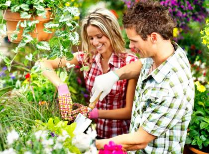Alergik w ogrodzie