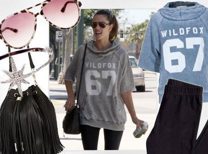 Alessandra Ambrosio: ubierz się na luzie jak słynna top modelka