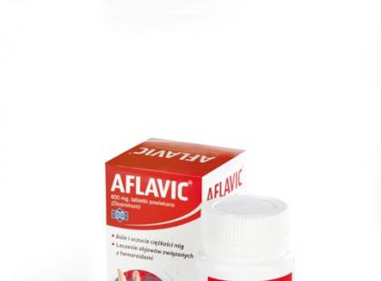 Alfavic – na problemy z niewydolnością żylną