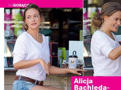 Alicja Bachleda-Curuś znalazła czas dla przyjaciół