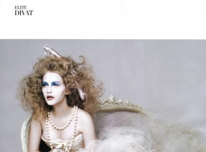 Alicja w Krainie Czarów i jej piękna sesja