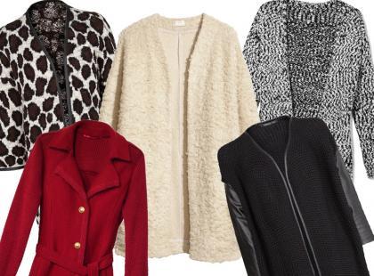 Altrenatywa dla płaszcza: swetry XXL