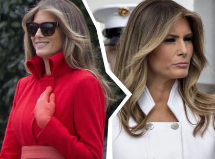 Ameryka analizuje (śmieje się) z portretu Melanii Trump. Co stało się tym razem?