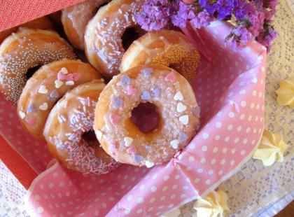 Amerykańskie donuty - Kasia gotuje z Polki.pl