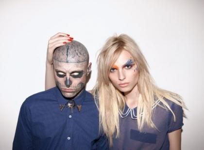 Andrej Pejic i Zombie Boy razem w kampanii reklamowej