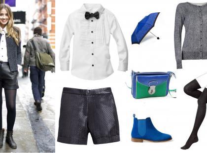 Androgeniczny styl z mody ulicznej
