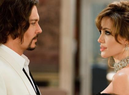 """Angelina Jolie i Johnny Depp w filmie """"Turysta"""""""