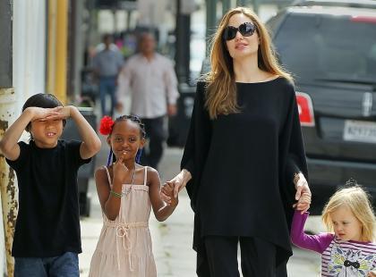Angelina Jolie kłamała w wywiadach za każdym razem, gdy O TO ją pytano...