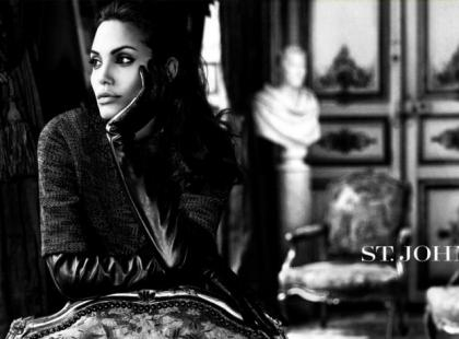 Angelina Jolie twarzą Louis Vuitton