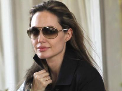 Angelina Jolie z wizytą na Haiti