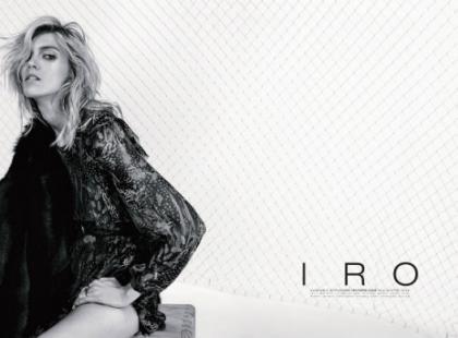 Anja Rubik i francuska marka IRO Paris