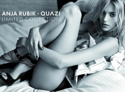 Anja Rubik + Quazi - pełna kolekcja lato 2011
