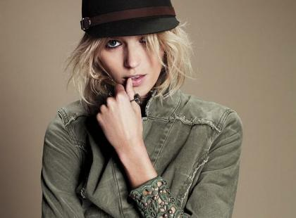 Anja Rubik w lipcowym lookbooku Free People!