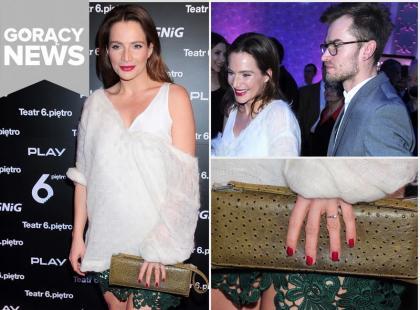 Anna Dereszowska: czy to pierścionek zaręczynowy?