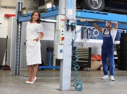 Anna Dereszowska w sesji Ladies Bemo Motors Club