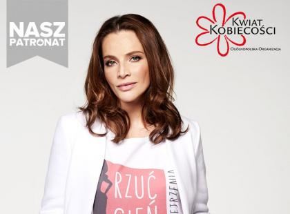 Anna Dereszowska wspiera walkęz rakiem jajników! Przeczytaj wywiad z aktorką